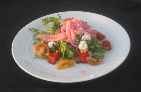 Grille Watermelon Salad