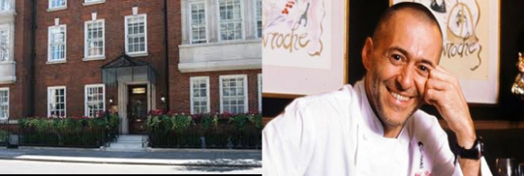 Michel Roux and restaurant