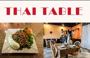 Thai Table Collage