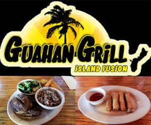 Guahan Grill Logo Collage