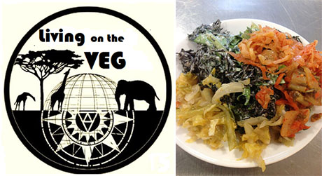living on the veg logo