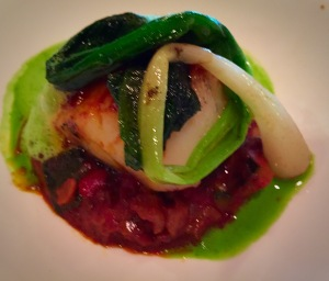 Scallop Basque Octopus