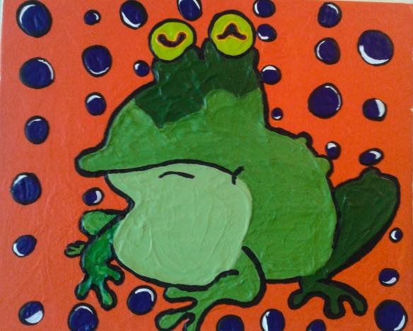 hypno frog