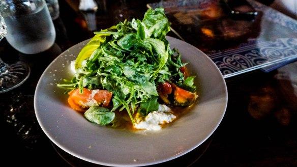 flying pig heirloom tomato salad