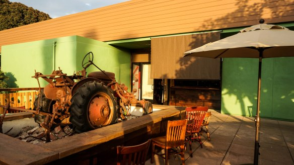 flying pig patio 2