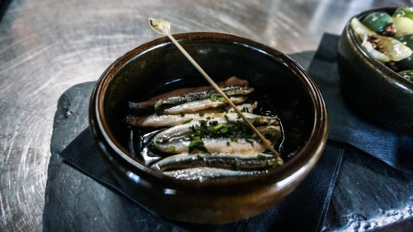 soltera wine anchovies
