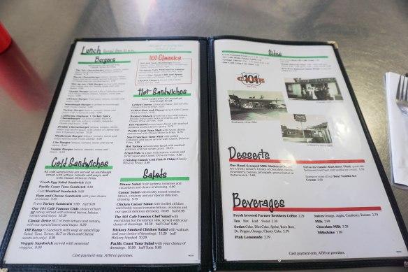 101 menu