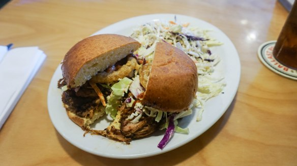 Pillbox pulled pork