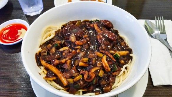 panda garden black bean noodles (1 of 1)
